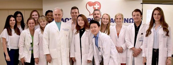 Σεμινάριο σε Pre-Med φοιτητές από την Αμερική